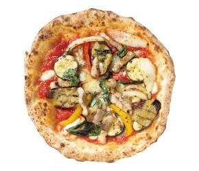 オリーブ豚パンツェッタのピッツァテッラ